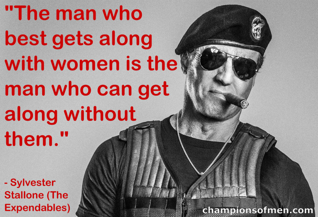 barney stallone expendables man who best gets along with women