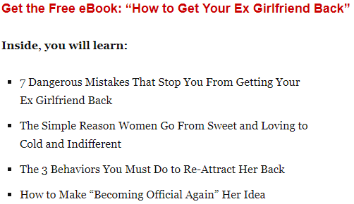 How to make your ex want you back again