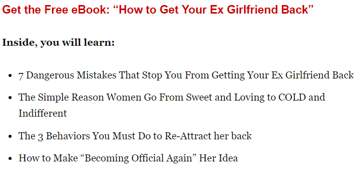Signs you dont love your ex anymore